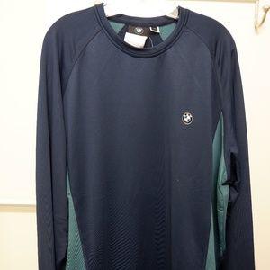 BMW Blue/Green Long Sleeve T-Shirt